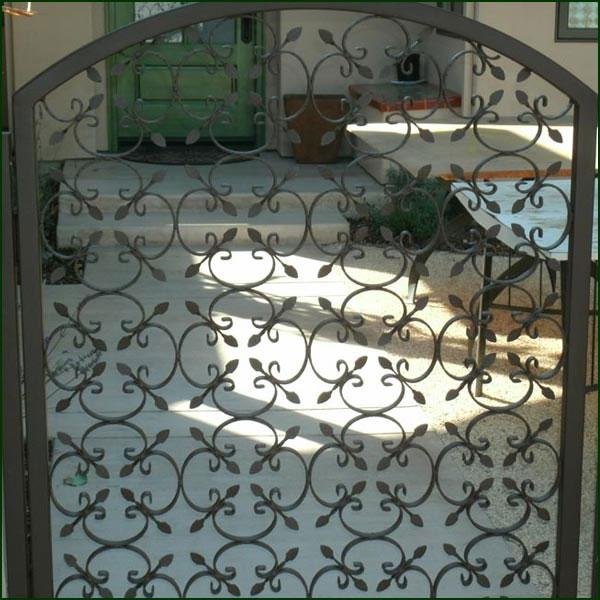 Iron Garden Gate San Mateo