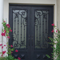 Wrought Iron Doors, San Francisco, CA